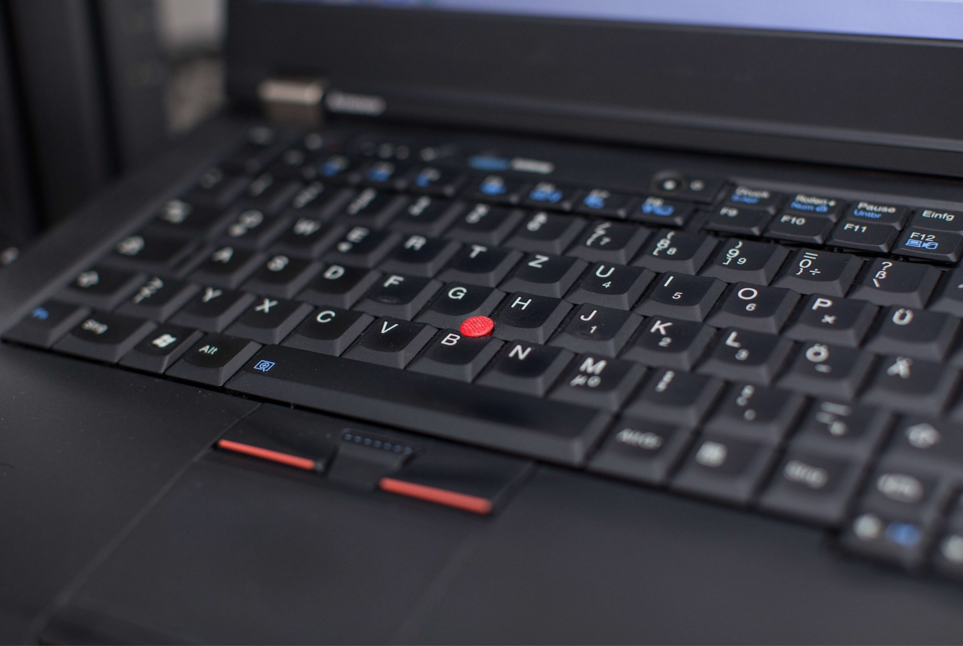 Thinkpad laptop keyboard